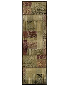 "Oriental Weavers Area Rug, Generations 1527X Dreamscape 2' 3"" x 7' 6"" Runner Rug"