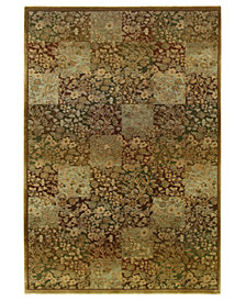 "Oriental Weavers Area Rug, Generations 3435Y Green 6' 7"" x 9' 1"""