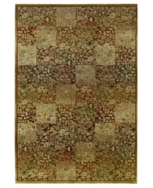 Oriental Weavers Area Rug, Generations 3435Y Green 8' Round