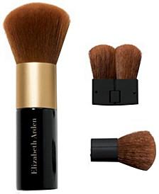 Face Powder Brush with Folding Mini Face Brush