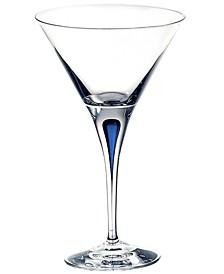 Intermezzo Blue Martini Glass