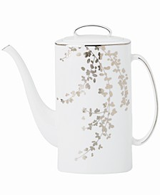 Gardner Street Platinum Coffee Pot