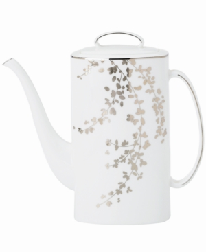 kate spade new york Gardner Street Platinum Coffee Pot