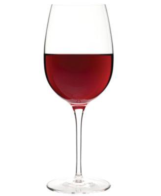 Glassware, Set of 4 Crescendo Bordeaux Glasses