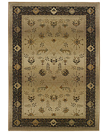 Oriental Weavers Area Rug, Genesis 112M Beige and Slate 8' Square
