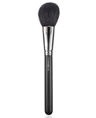 mac 150 large powder brush  makeup  beauty  macy's