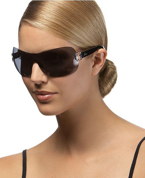 GUESS Sunglasses, Rimless Shield Frames & Reviews