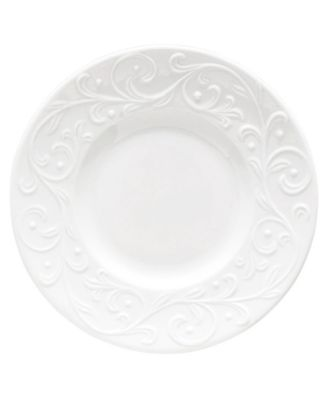 Dinnerware, Opal Innocence Carved Party Plate