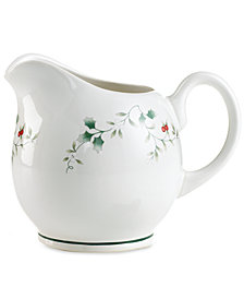 Pfaltzgraff Winterberry Gravy Pitcher