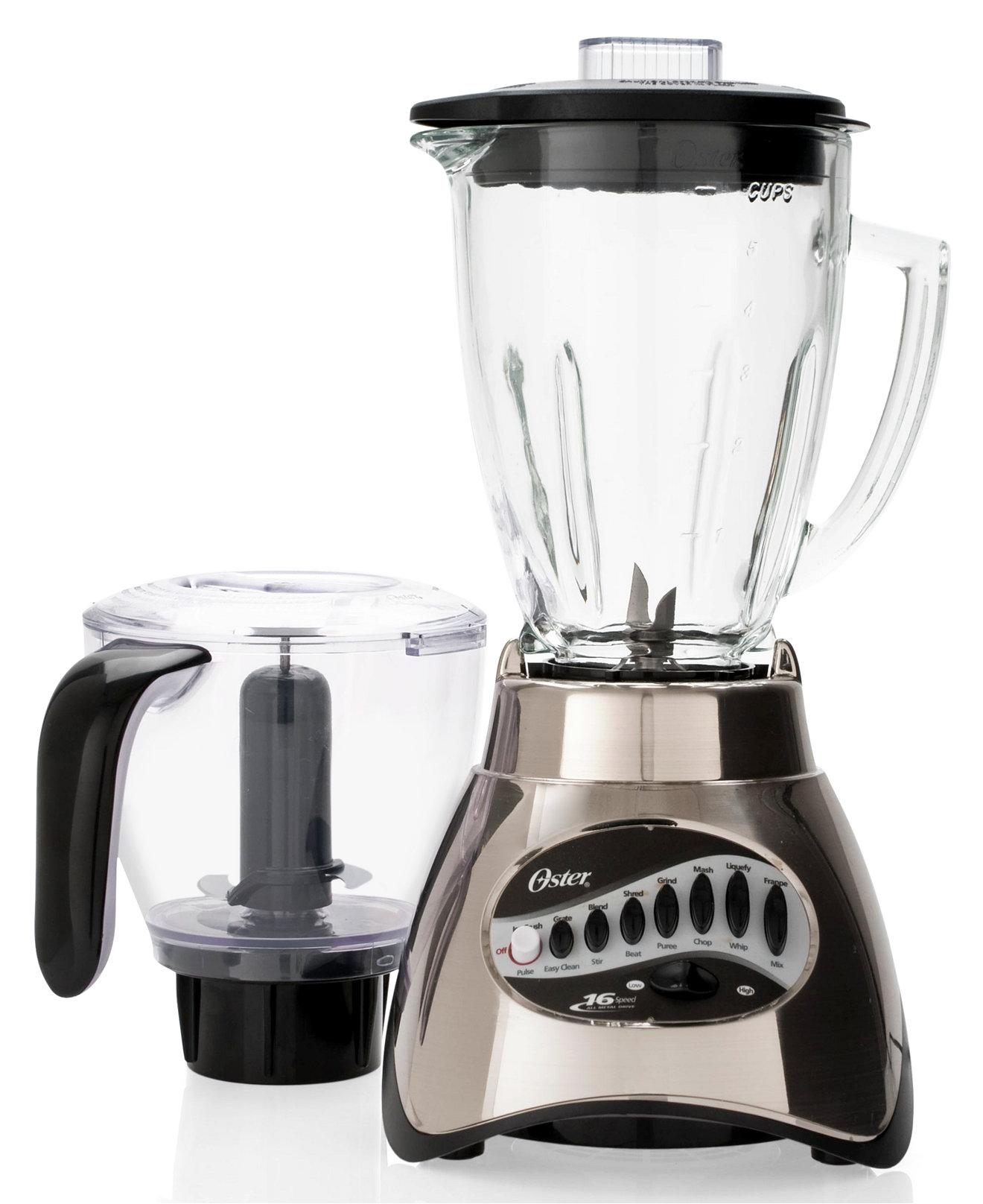 Macys Kitchen Appliances Oster 6878 Blender 16 Speed Electrics Kitchen Macys Bridal