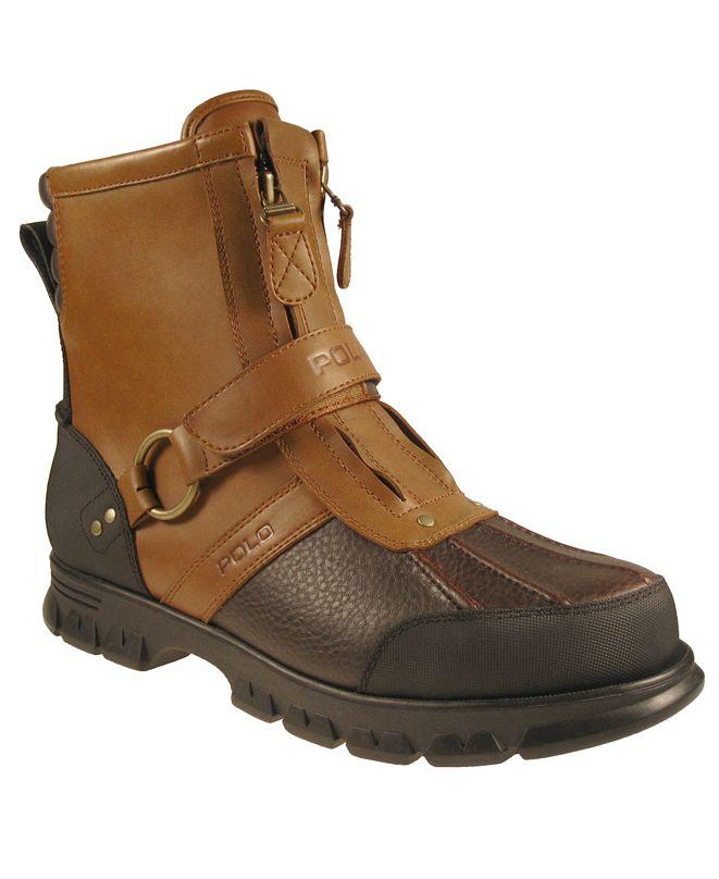 Polo Ralph Lauren Shoes, Conquest Hi Top Boots