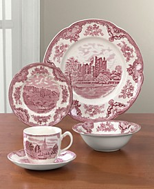 """Old Britain Castle Pink"" Dinnerware"