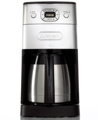 Cuisinart Automatic Grind and Brew Coffee Maker 10 Cup Thermal Carafe
