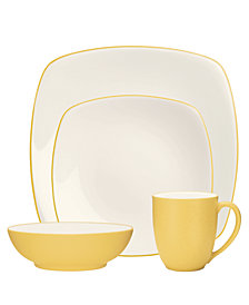 Noritake Colorwave Square 4 Piece Place Settings