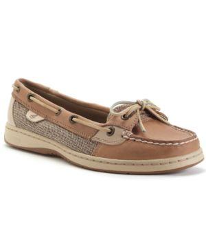 Women'S Angelfish Boat Shoes Women'S Shoes in Linen Gold