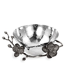 Black Orchid Nut Bowl