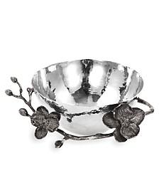 Michael Aram Black Orchid Nut Bowl