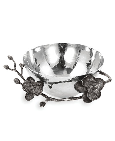 Michael Aram Black Orchid Nut Bowl Serveware Dining