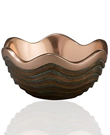 Nambe Copper Canyon Small Metal Bowl