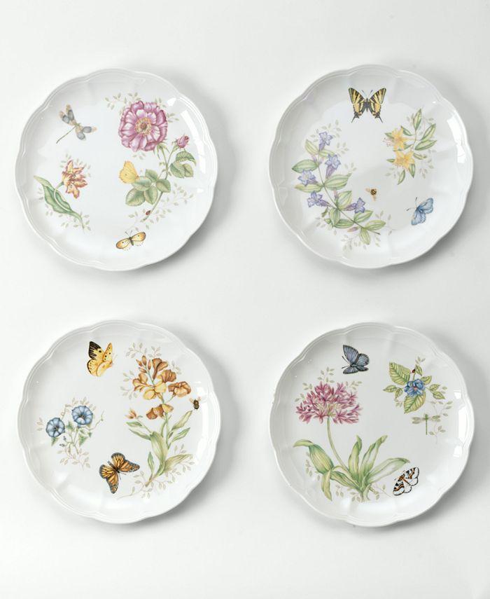 """Lenox - """"Butterfly Meadow"""" Dinner Plate"""