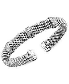 Diamond Bracelet in Sterling Silver (1/3 ct. t.w.)