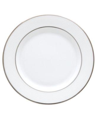 Opal Innocence Stripe Appetizer Plate
