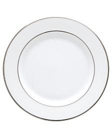 Lenox Opal Innocence Stripe Appetizer Plate