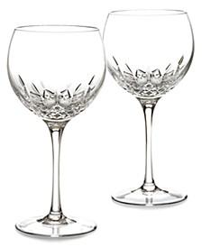 Stemware Lismore Essence Balloon Wine Glass Pair