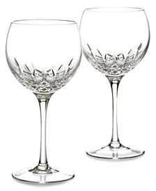 Waterford Stemware Lismore Essence Balloon Wine Glass Pair