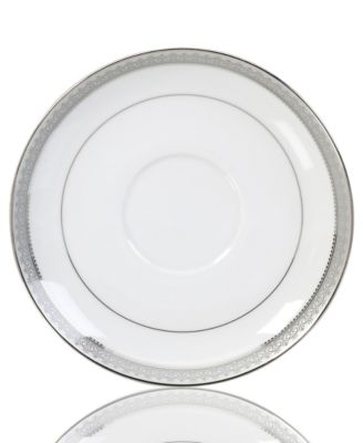 Platinum Crown Saucer