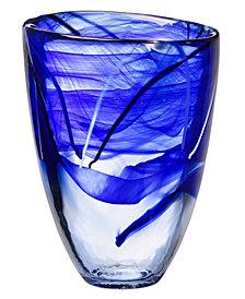 """Kosta Boda Contrast 8"""" Vase"""