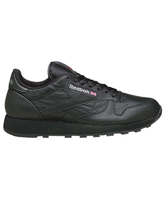 reebok s classic leather casual sneakers from finish