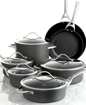 Calphalon Contemporary Nonstick 12 Pc Cookware Set