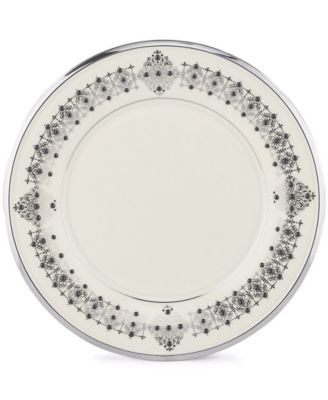 """Solitaire"" Accent Plate, 9"""