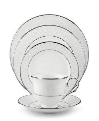 Dinnerware, Opal Innocence 5 Piece Place Setting