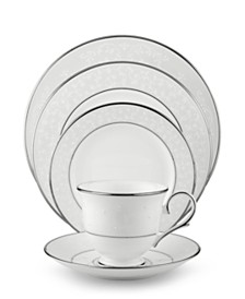 Lenox Dinnerware, Opal Innocence 5 Piece Place Setting