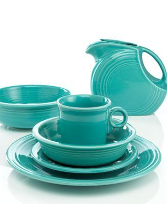 Turquoise 2-Quart Serve Bowl