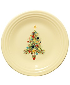 "Christmas Tree 9"" Lunch Plate"