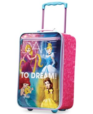 """Disney Princess 18"""" Rolling Suitcase by American Tourister 3446482"""