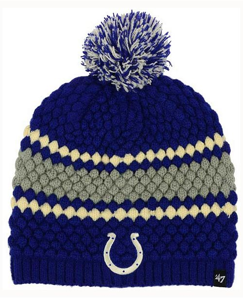 '47 Brand Women's Indianapolis Colts Leslie Pom Knit
