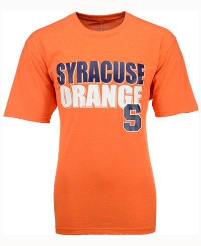 Colosseum Men's Syracuse Orange Wordmark Stack T-Shirt