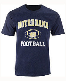 Colosseum Men's Notre Dame Fighting Irish Football Arch Logo T-Shirt
