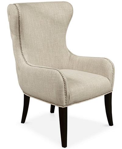 Tarran Upholstered Armchair, Quick Ship