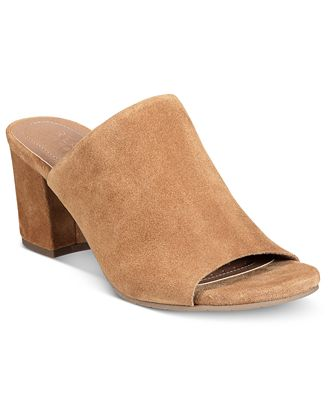 Kenneth Cole Reaction Women's Mass-Ter Mind Peep-Toe Mules