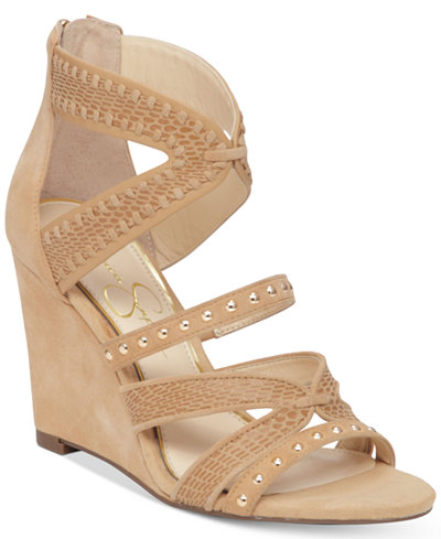 Jessica Simpson Zenolia Strappy Wedge Sandals