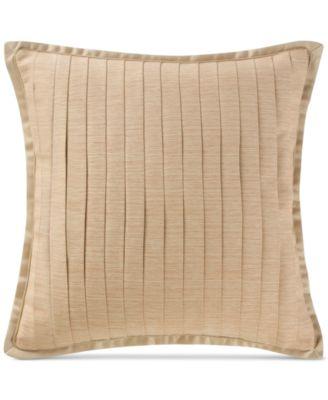 "Margot Persimmon 16"" Square Decorative Pillow"