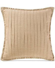 "Waterford Margot Persimmon 16"" Square Decorative Pillow"