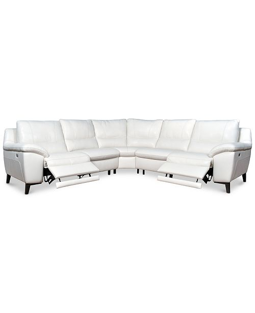 Super Furniture Closeout Stefana 5 Pc Sectional Sofa With 2 Inzonedesignstudio Interior Chair Design Inzonedesignstudiocom
