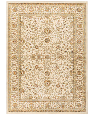 CLOSEOUT! KM Home Oxford Kashan Ivory 3'11