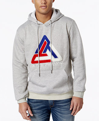 Black pyramid men 39 s embroidered hoodie hoodies for Black pyramid t shirts for sale